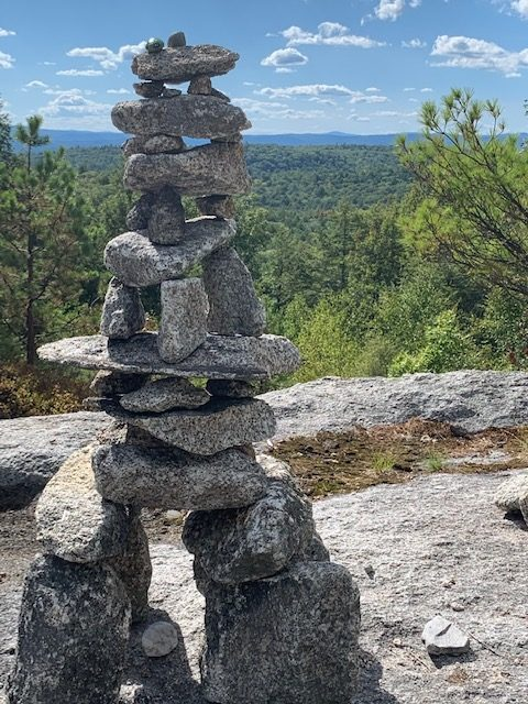 Image of Cairn, Mt. Pisgah, New Hampshire