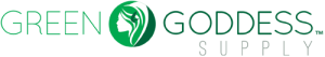 Logo for Green Goddess Supply, a wholesale and retail company servicing the cannabis industry
