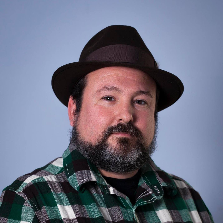 Headshot of the Western Massachusetts writer Joshua Michael Stewart.
