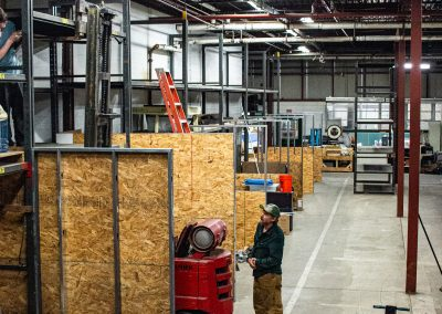 Developments going on in a section of Worcshop focusing on smaller custom light industrial or commercial spaces