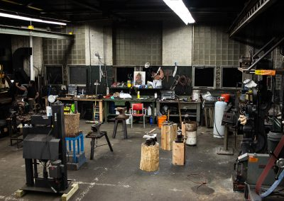 The forge area of Worcshop's new Rochdale facility