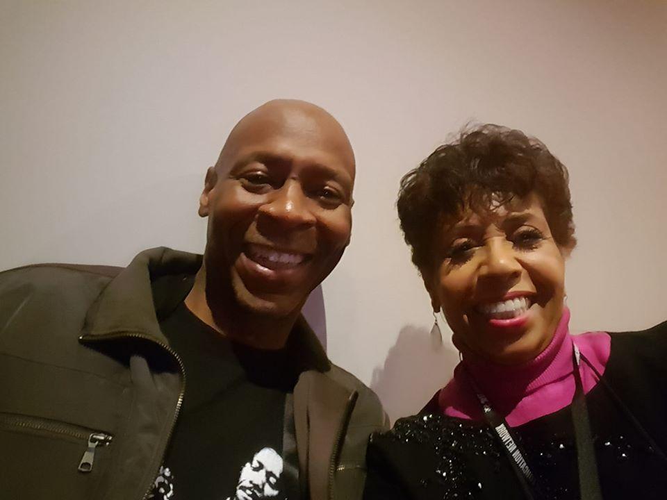 The Jazz Room host Joan Watson Jones and Guitarist Kevin Eubanks