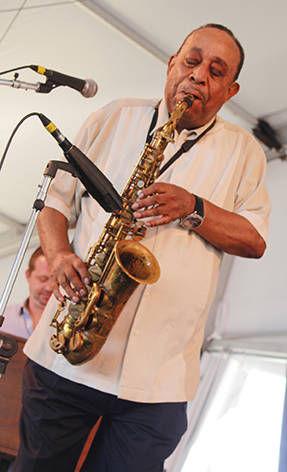 Alto Saxophonist Lou Donaldson takes the stage at Newport, RI