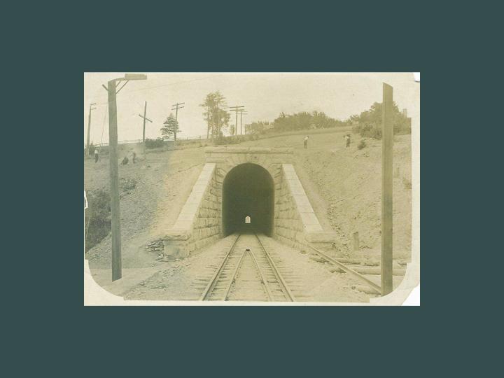 Clinton Greenway Tunnel, circa early 20th century