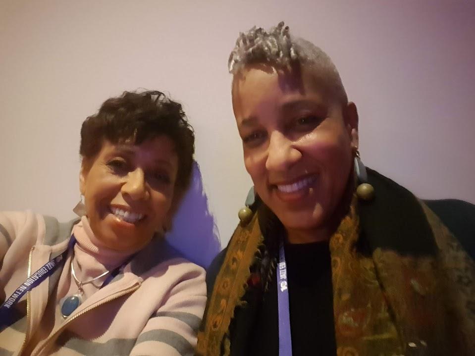 The Jazz Room host Joan Watson-Jones and singer Rene Marie