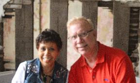 Full color photo from Newport Jazz Festival 2019, Joan Watson-Jones & Jon Baptiste
