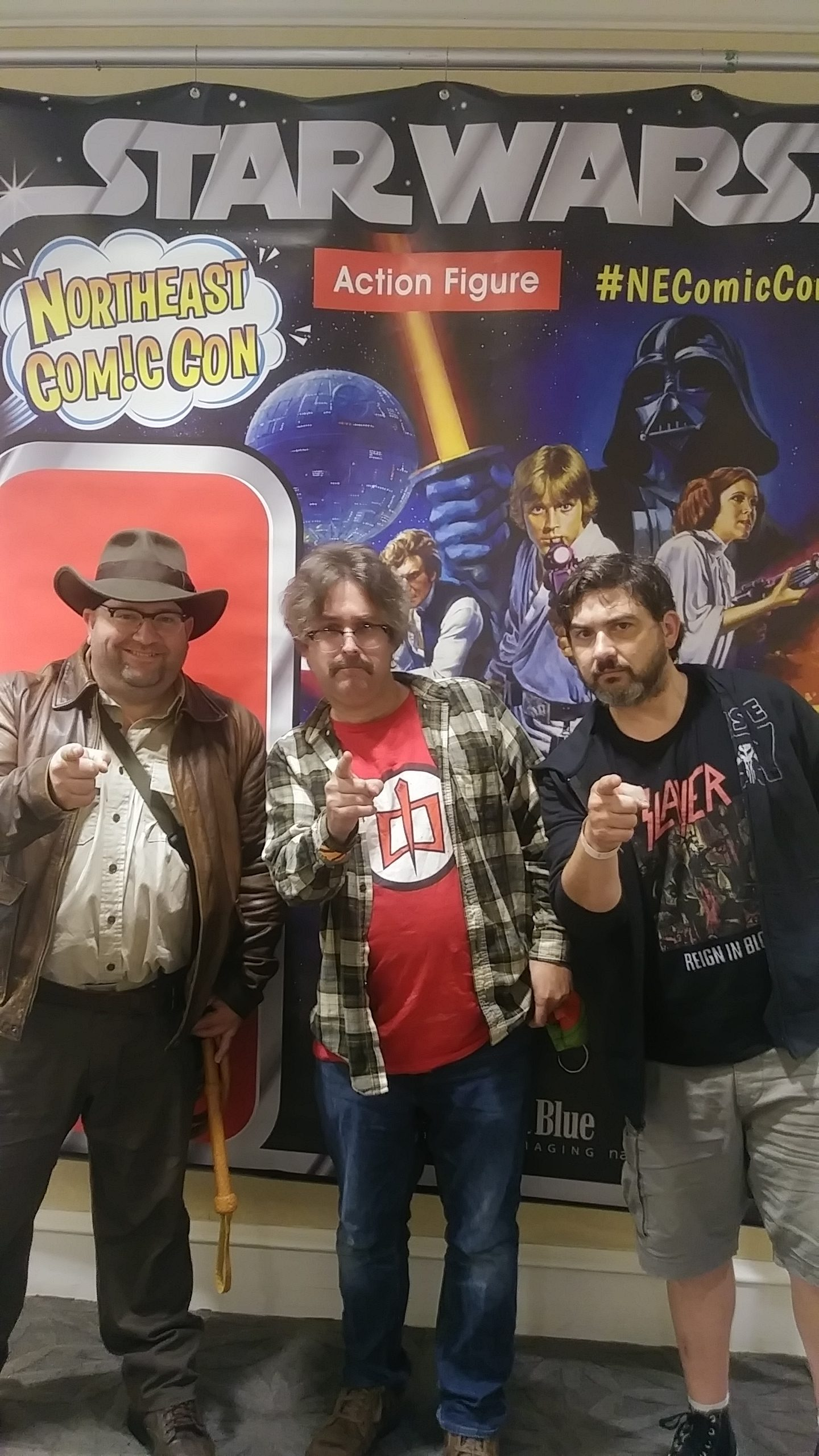 Full color, Brett and friends live from Northeast Comic Con weekend of July 4 2021