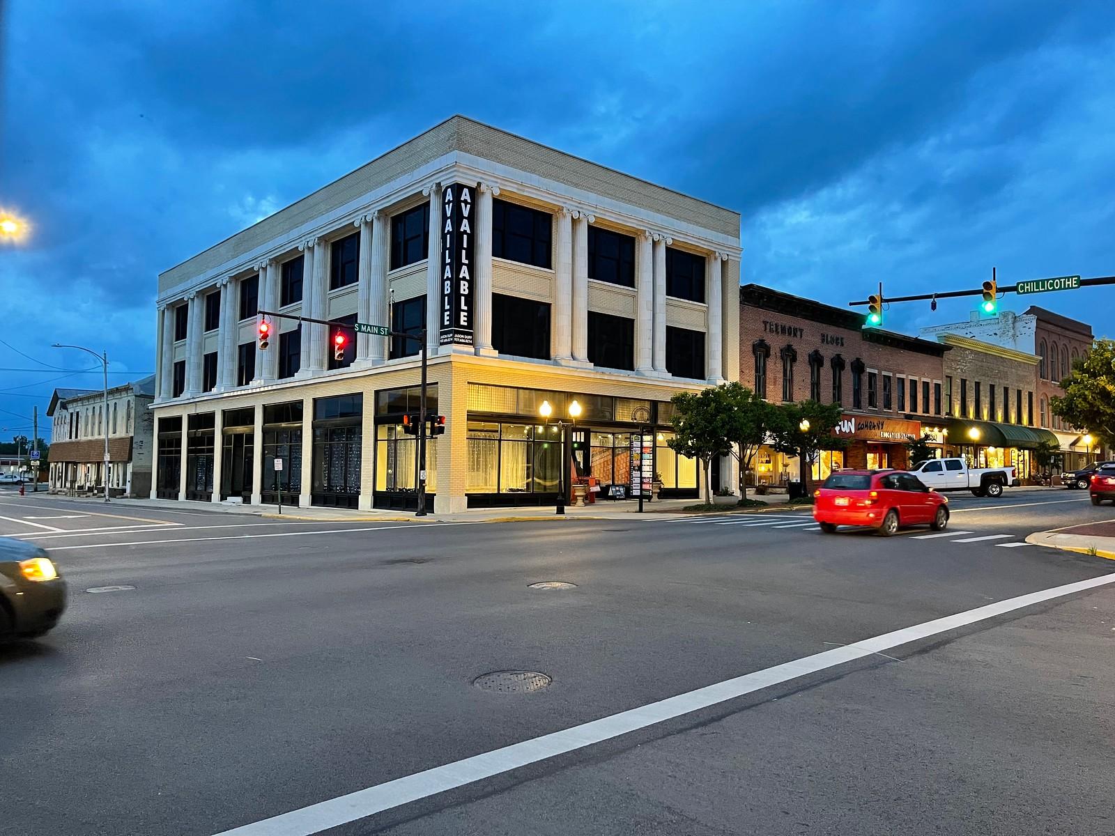 Full Color Streetscene from Bellefonte, OH